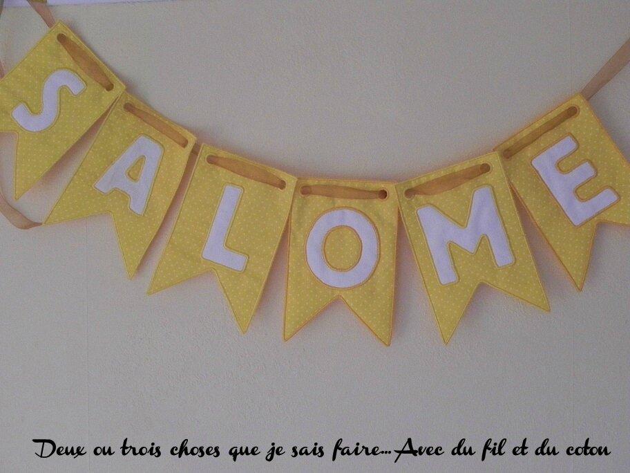 banderole Salomé