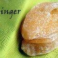 Moelleux poires et gingembre confit