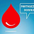 appel au <b>don</b> du <b>sang</b> - collectes à Avranches et Ducey en janvier et février 2019