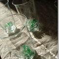 Décoration de vert et de verre (Noël vert)