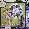 Carte d'anniversaire pour Ana - mai 2011