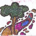 arbre et fantôme