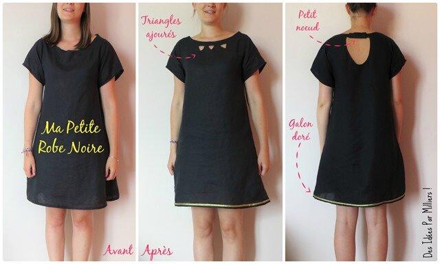 Ma Petite Robe Noire pour Cousu Main + Tuto