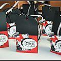 Des petits sacs pour bonbons
