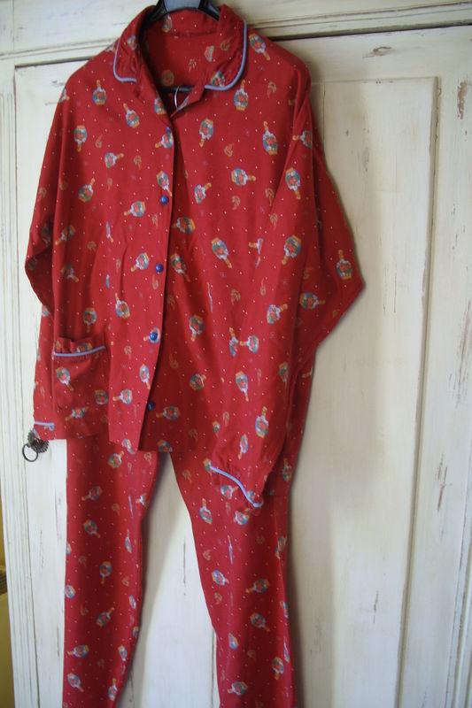 Pyjama, vieux patron