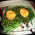 Flans de celeri rave