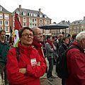 ... et Martine Billard, Co-présidente du PG (Amiens, le 1er juillet 2014)