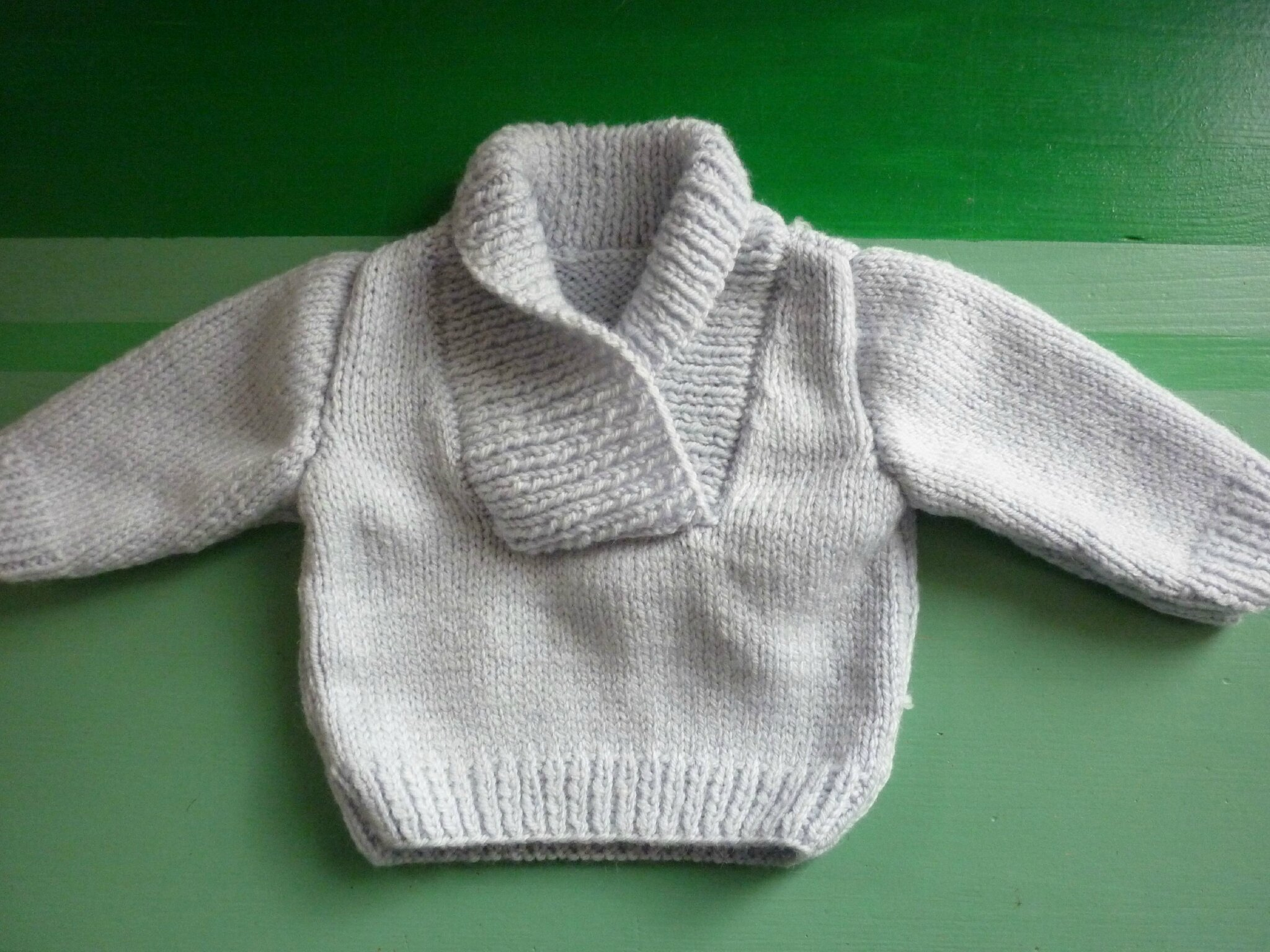 Pull pour Baptiste (taille 3 mois)