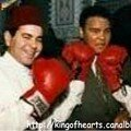 Prince Moulay Rachid with Muhamed Ali