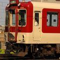 近鉄8400系(8416F) since 1969, near Yamato-Saidaiji depôt.
