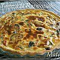 Savoureuse tarte à la ratatouille : courgettes, aubergines, poivrons