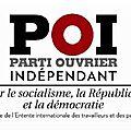 Législatives somme (80) : le poi soutient les candidat-e-s france insoumise (fi)