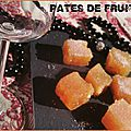 Pâte de fruits orange citron