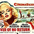 Fiche du film River of no return