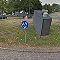 Rond-point à Groningue (<b>Pays</b>-<b>Bas</b>)