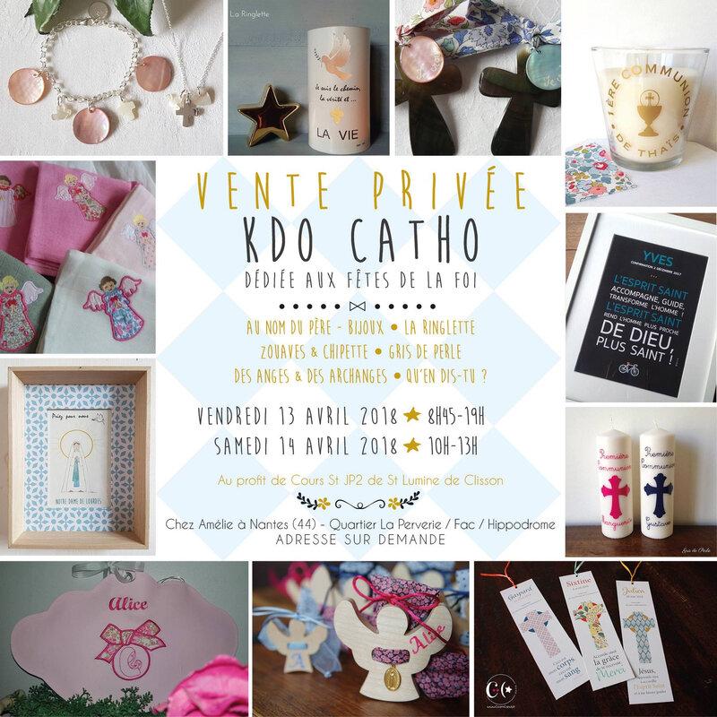 Invitation pour la vente à Nantes (sans adresse)