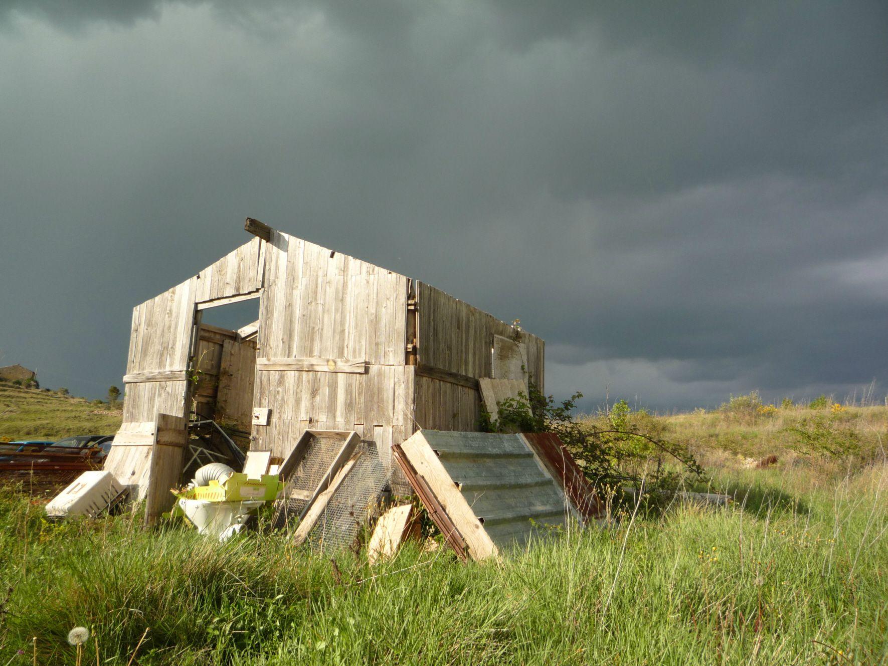 cabane sans toit
