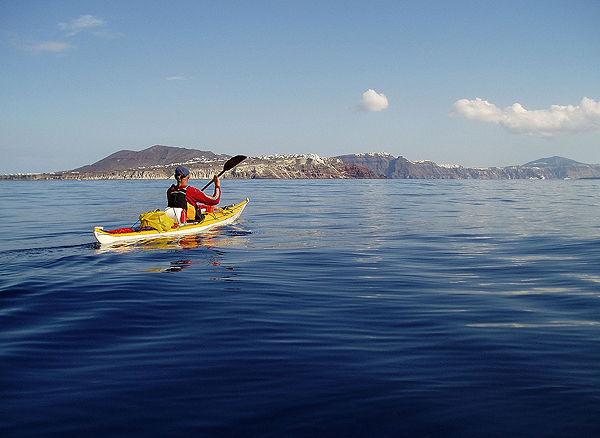 Arrivée sur Santorin