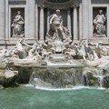 Fontana di Trevi à Rome