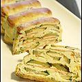 Ronde interblogs #27 - terrine de courgette et saumon