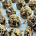 Peanuts balls, bouchées au beurre de cacahuète