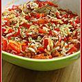 Ronde interblogs 34 : riz à l'andalouse