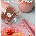 Yaourt aux pralines roses
