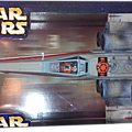 X-WING RED LEADER HASBRO 2004 DEATH STAR TRENCH