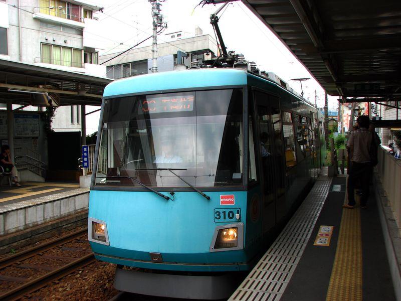 Tôkyû 310, Shôin-Jinjamae eki