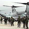 Des marines us en espagne, en prévision de troubles majeurs en algérie