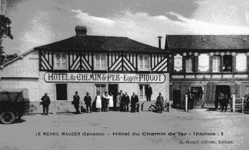 Le Mesnil-Mauger - hotel chemin fer Piquot