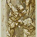 Sir Peter Paul Rubens (Siegen 1577 - 1640 Antwerp), Anatomical <b>studies</b> of three male figures