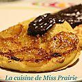 Pancakes bananes & chocolat