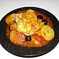 Cabillaud à la tomate, aux pommes de terre et au fenouil