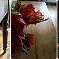 Table / bureau 40 relookée factory