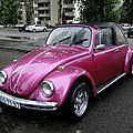 Volkswagen coccinelle 1300 transformable, 1967
