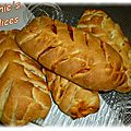 Fougasses salees