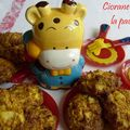 Cookies carotte - pomme - coco