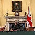 Royaume-uni. la photo qui marque le coup d'envoi du brexit