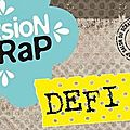 Défi n°8 version scrap