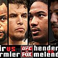 FIGHTCARD ET <b>PRONOS</b> DE L'UFC ON FOX 7