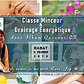 drainage énergétique, à Rabat