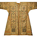 A large Ottoman talismanic shirt (jama) with extracts from the Qur'an and prayers, Turkey, <b>16th</b>-<b>17th</b> <b>century</b>