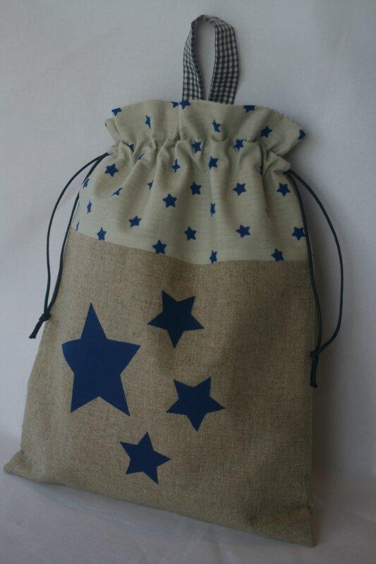Pochon étoiles