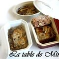 Terrine de pintade aux fruits secs