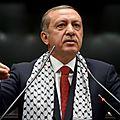 Turquie : <b>Erdogan</b> rend un prix que lui avait décerné le Congrès juif américain