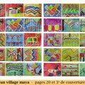 Un village maya - pages 20 et 3e de couverture