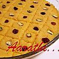 Almond <b>Rava</b> Burfi