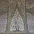 Iran - Histoire et architecture (14/19). Afghans (1722 / 1729), Afshars (1736 / 1747) et Zands (1750 / 1794) – La mosquée Vakil.