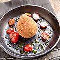 <b>Arancini</b> tomate-mozzarella